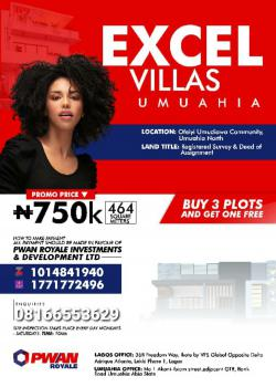 Excel Villas, Umuahia, Abia, Mixed-use Land for Sale