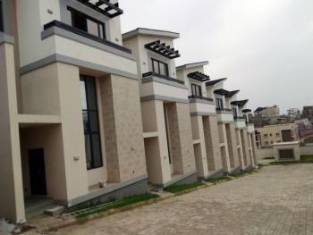 4-bedroom Terrace Duplex with 1-room Bq and Swimming Pool, Guzape District, Abuja, Terraced Duplex for Rent