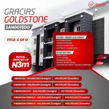 Luxurious 4 Bedroom Terrace, Sangotedo, Ajah, Lagos, Terraced Duplex for Sale