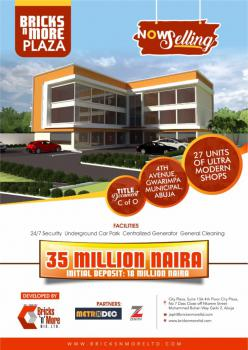 Shops, 𝟒𝒕𝒉 𝑨𝒗𝒆𝒏𝒖𝒆, Gwarinpa, Abuja, Plaza / Complex / Mall for Sale