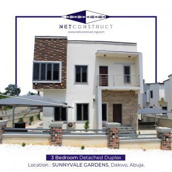 New Nicely Designed 3 Bedroom Detached Duplex with 1 Room Bq, Dankwo, Kabusa, Abuja, Detached Duplex for Sale