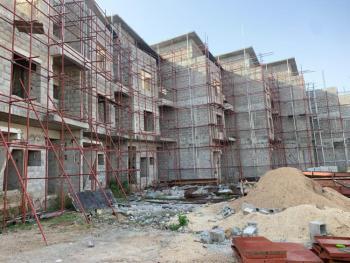5 Bedroom Semi- Finished Terrace with Basement, Guzape, Guzape District, Abuja, Terraced Duplex for Sale