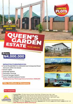 Land in a Built Up Environment, Queens Gardens Estate, Kuje, Abuja, Residential Land for Sale