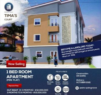 Off Plan 1 Bedroom Mini Flat, Pedro, Gbagada, Lagos, House for Sale