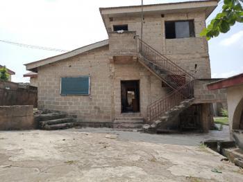 5 Bedroom Duplex with 2 Bedroom Bungalow on 2 Plots. Good for School., Odo Eran Off Ikola Command, Ipaja, Lagos, Semi-detached Duplex for Sale