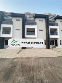 4 Bedrooms Terrace Duplex with One Room Bq, Jabi, Abuja, Terraced Duplex for Sale