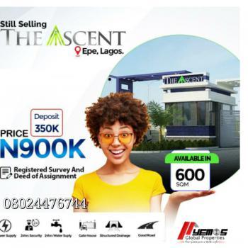 Land, Talara-oke,igbonla, Epe, Lagos, Residential Land for Sale