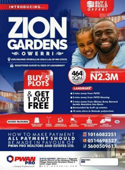 Land, Zion Garden Estate, Ohaji/egbema, Imo, Mixed-use Land for Sale