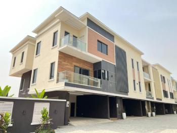Massive 4 Bedroom High Toned Luxury Terrace Duplex + Bq, Lekki Phase 1, Lekki, Lagos, Terraced Duplex for Sale