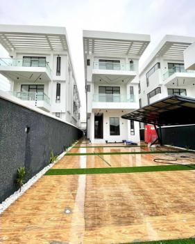 The Luxe! Exquisitely Finished 5 Bedroom Detached House with Bq, Pool, Lekki Phase 1, Lekki, Lagos, Detached Duplex for Rent