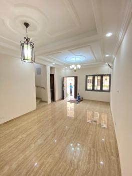 Serviced with 24 Hours Electricity. 4 Bedrooms En-suite Terrace, Osapa, Lekki, Lagos, Terraced Duplex for Rent