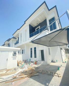 Brand New 4 Bedroom Semi-detached Duplex with 1 Room Bq, Chevron, Lekki, Lagos, Semi-detached Duplex for Rent