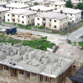 an Equisite 2 Bedroom Terrace with Bq. Invest Now, Abijo G.r.a, Ajah, Lagos, Terraced Duplex for Sale