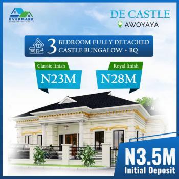 Royal Finished 3 Bedroom Detached Castle Bungalow + Bq, De Castle, Awoyaya, Ibeju Lekki, Lagos, Detached Bungalow for Sale