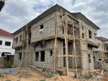 4 Bedroom Detached Duplex Carcas with a Room Bq, Located at Airport Road Lugbe Fct, Kiami, Lugbe District, Abuja, Detached Duplex for Sale