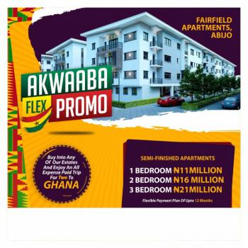 2 Bedroom Luxury Apartment in Nice Location, Fairfield Apartments, Eastland Estate, 5 Minutues From Novare Shoprite, Abijo, Lekki, Lagos, Block of Flats for Sale