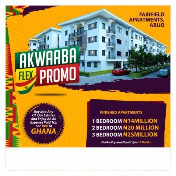 3 Bedroom Luxury Apartment in Good Location, Fairfield Apartments, Eastland Golf Estate, 5 Mins From Novar Shoprite, Abijo, Lekki, Lagos, Block of Flats for Sale