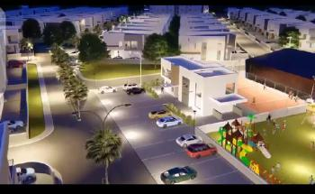 650m2 Bare Land in a Fully Service Estate (platinum Gate Estate), Platinum Gate Estate Behind Stadium., Alaka, Surulere, Lagos, Residential Land for Sale