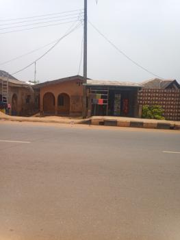 Land with 2 Bedroom Flat Structure, Along Ikola-command Road, Ipaja, Lagos, Residential Land for Sale