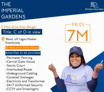 Land with Survey and Deed, Wawa, Lagos Ibadan Express Way, Opic, Isheri North, Ogun, Residential Land for Sale