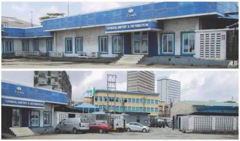 Office and Warehouse Available, Along Adeniji Adele Road, Elegbata, Lagos Island, Lagos, Warehouse for Sale