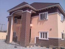 Luxurious 6 Bedroom Duplex with 2 Rooms Guests Chalet and 1 Bedroom Flat Plus Swimming Pool, Prince and Princess Estate, Gaduwa, Abuja, Detached Duplex for Sale