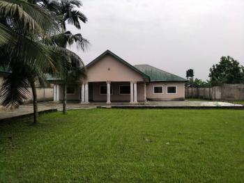 Specious 4 Bedroom Bungalow with Federal Light, Famer Rd Estate, Eliozu, Port Harcourt, Rivers, Detached Bungalow for Sale