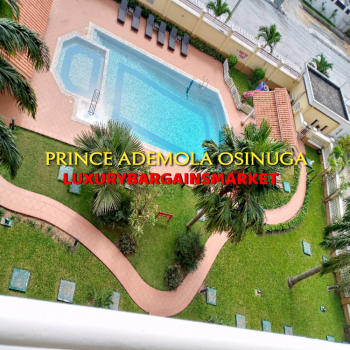 Serenity. Deals on Luxury 3 Bedrooms Apartment + Pool + Gym, Old Ikoyi, Ikoyi, Lagos, Flat for Rent
