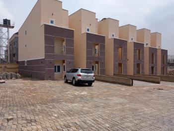 Newly Built and Well Located Luxury 4 Bedrooms Terraced House with Bq, Olusegun Obasanjo Way, Wuye, Abuja, Terraced Duplex for Sale