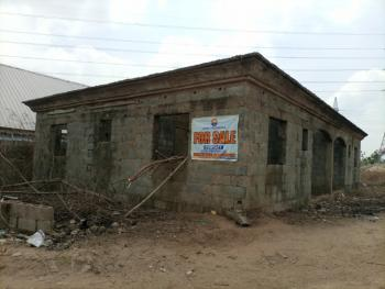 a 600sqm Land with 2 Units 2 Bedrooms Carcass, Sector F, Airport Road, Lugbe District, Abuja, Land for Sale