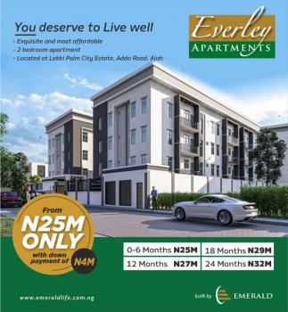 Full Serviced 3 Blocks of 26 Units 2 Bedroom Apartments, 10 Mins Drive From Vgc & 7 Mins Drive From Ajah Junction., Ajah, Lagos, Block of Flats for Sale