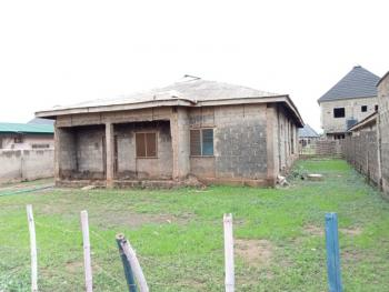 Well Built Four Bed Room Flat Bungalow, Onimaba Estate, Igando, Ikotun, Lagos, Detached Bungalow for Sale