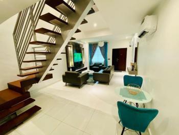 Luxurious 2 Bedrooms Duplex with Classic Furnishing, Ikate, Lekki Phase 1, Lekki, Lagos, Terraced Duplex Short Let