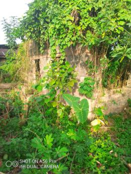 Plot of Land with Uncompleted Bungalow and Registered Survey Plan, Sawmill Bus-stop, After Teachers House, Upper Siluko Road, Egor, Edo, Mixed-use Land for Sale