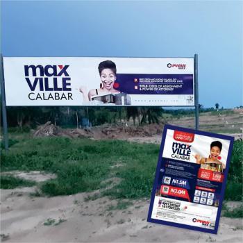 Affordable Plots of Land, Max Ville in Okon Archibong Village, Off Mcc Road, Anyanganse, Calabar, Cross River, Mixed-use Land for Sale