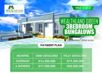 Semi Detached Bungalow, Awoyaya Oribanwa, Sangotedo, Ajah, Lagos, Semi-detached Bungalow for Sale