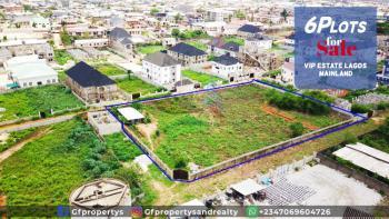 Distress Offer of 6 Plots of Land in Vip Estate, Opposite Abasan Jakende Estate, Ipaja, Lagos, Mixed-use Land for Sale