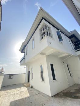 Lovely 4 Bedroom Fully Detached Duplex with a Room Bq, Chevron, Lekki, Lagos, Detached Duplex for Sale