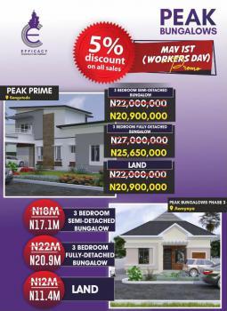3 Bedroom Semi-detached Bungalows, Sangotedo, Ajah, Lagos, Semi-detached Bungalow for Sale