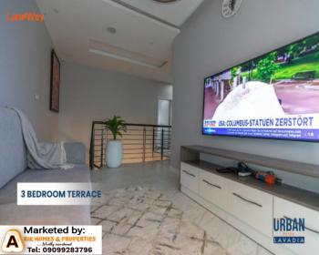 Classy and Luxurious 3 Bedrooms Terraced Duplex + Bq, Abraham Adesanya Estate, Lekki Expressway, Lekki, Lagos, Terraced Duplex for Sale