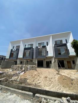 Contemporary Styled 4 Bedroom Terrace Duplex + Bq, Lekki Phase 1, Lekki, Lagos, Terraced Duplex for Sale