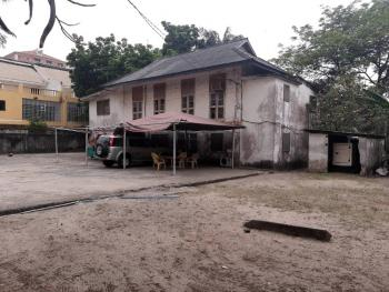 2600sqm Commercial Land Plot with Old Building, Off Alfred Rewane Road, Ikoyi, Lagos, Commercial Land for Sale