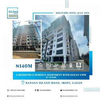 4 Bedroom Luxurious Apartment with Ocean View (6th Floor), Banana Island Road, Banana Island, Ikoyi, Lagos, Flat / Apartment for Sale