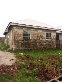 Completed 3 Bedroom Bungalow with 2 Shops at Lintel Level on Half Plot, Igbojia, Bogije, Ibeju Lekki, Lagos, Detached Bungalow for Sale