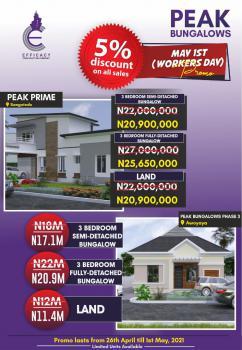 3 Bedroom Fully Detached Bungalow, Sangotedo, Ajah, Lagos, Detached Bungalow for Sale