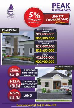 3 Bedroom Fully Detached Bungalow, Smart City, Sangotedo, Ajah, Lagos, Detached Bungalow for Sale