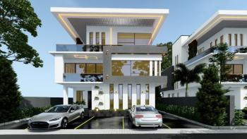 Coming Soon! Iconic & Opulent Designed 5 Bed Terrace with Bq, Guzape Hills, Guzape District, Abuja, Terraced Duplex for Sale