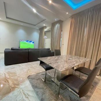 Luxury Furnished 4 Bedroom with Bq, Chevron, Lekki Phase 1, Lekki, Lagos, Semi-detached Duplex for Rent