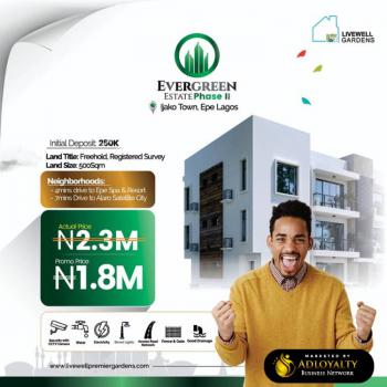 Evergreen Estate Phase 2, Express Road, Epe, Lagos, Residential Land for Sale