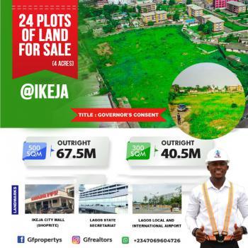 24 Plots of Vigin Dry  Land, Adeniyi Jones/awolowo Road, Ikeja, Lagos, Mixed-use Land for Sale